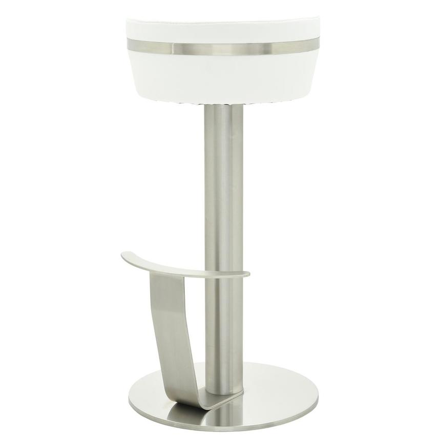 Lexi White Bar Stool  alternate image, 2 of 6 images.
