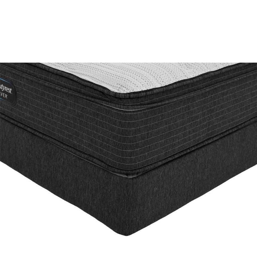 BRS900-ET-MS Full Mattress w/Low Foundation by Simmons Beautyrest Silver  main image, 1 of 6 images.