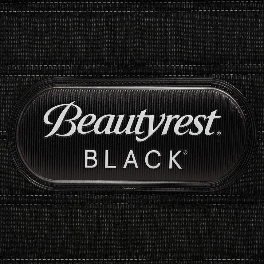 BRB-L-Class Firm Full Mattress w/Regular Foundation by Simmons Beautyrest Black  alternate image, 5 of 6 images.