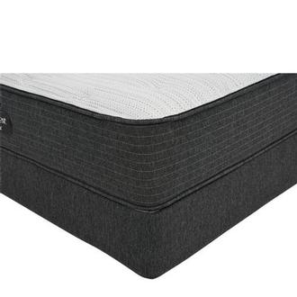 BRBS900-TT-Firm King Mattress w/Low Foundation by Simmons Beautyrest Silver