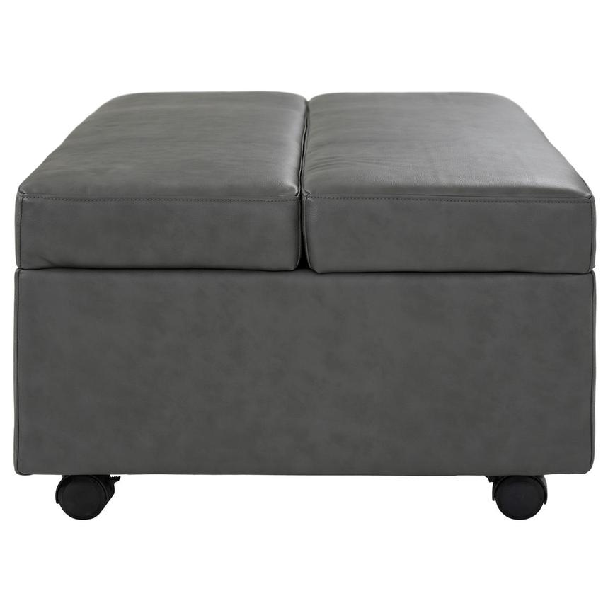 Pressley II Gray Twin Ottoman Bed w/Casters  alternate image, 4 of 8 images.