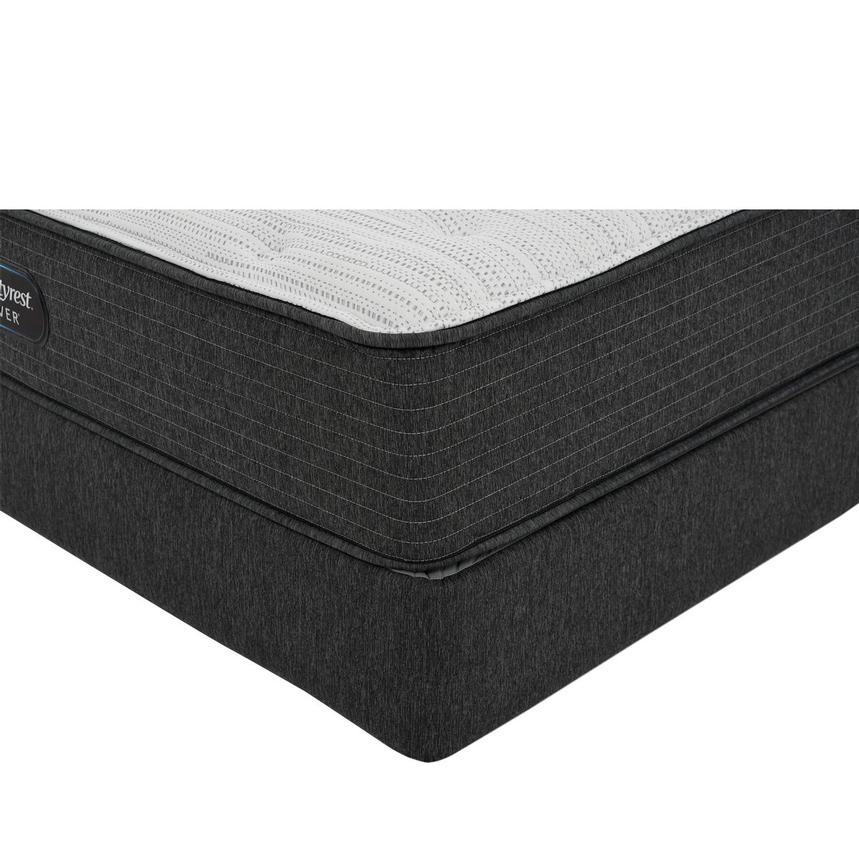 BRS900-TT-Plush Queen Mattress w/Regular Foundation by Simmons Beautyrest Silver  main image, 1 of 6 images.