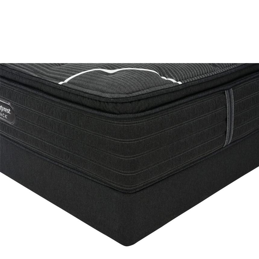 BRB-C-Class PT Twin XL Mattress w/Low Foundation by Simmons Beautyrest Black  main image, 1 of 6 images.