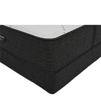 BRX 1000-Firm Twin Mattress w/Low Foundation by Simmons Beautyrest Hybrid