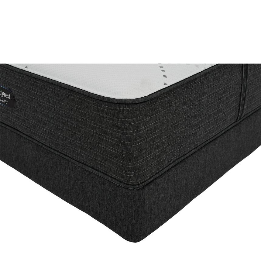 BRX 1000-Firm Twin Mattress w/Regular Foundation by Simmons Beautyrest Hybrid  main image, 1 of 6 images.