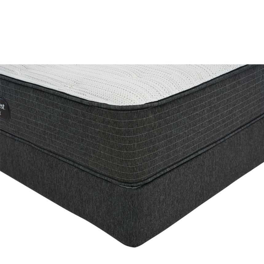 BRBS900-TT-Firm Twin XL Mattress w/Low Foundation by Simmons Beautyrest Silver  main image, 1 of 6 images.
