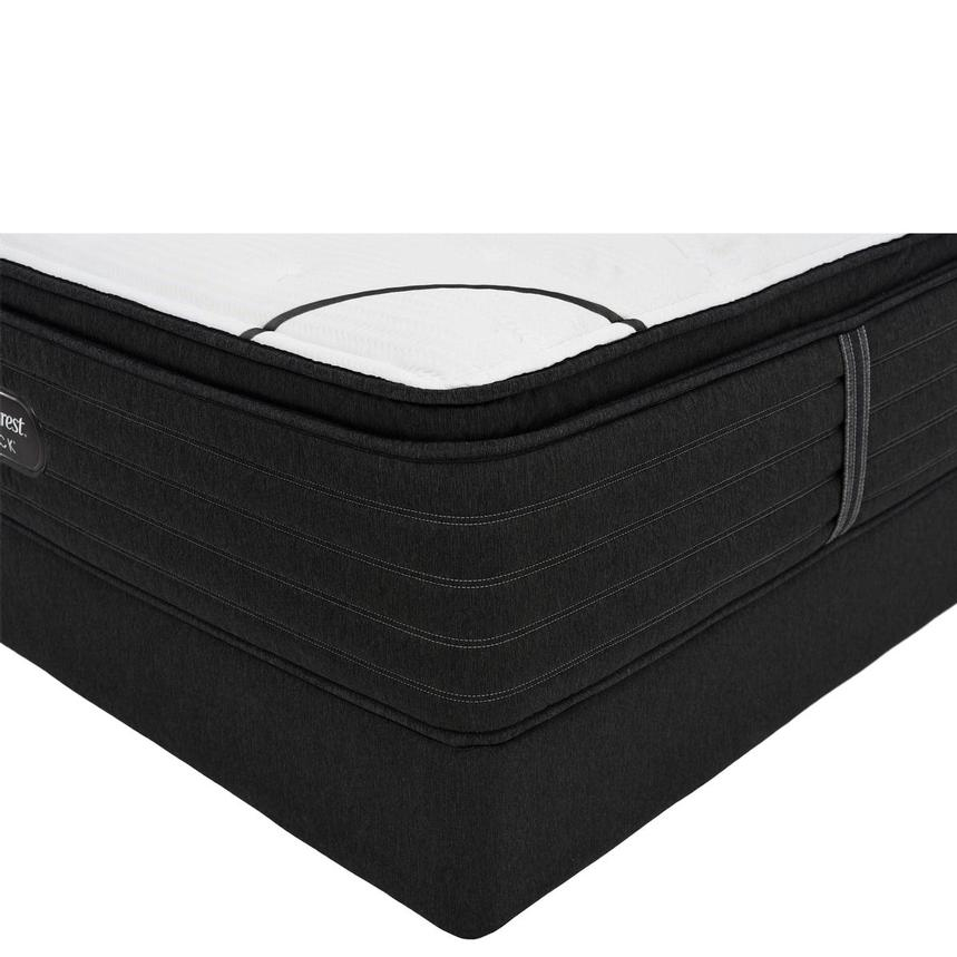 BRB-L-Class PTMS Twin XL Mattress w/Low Foundation by Simmons Beautyrest Black  main image, 1 of 6 images.