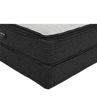 BRS900-ET-MS Twin XL Mattress w/Regular Foundation by Simmons Beautyrest Silver