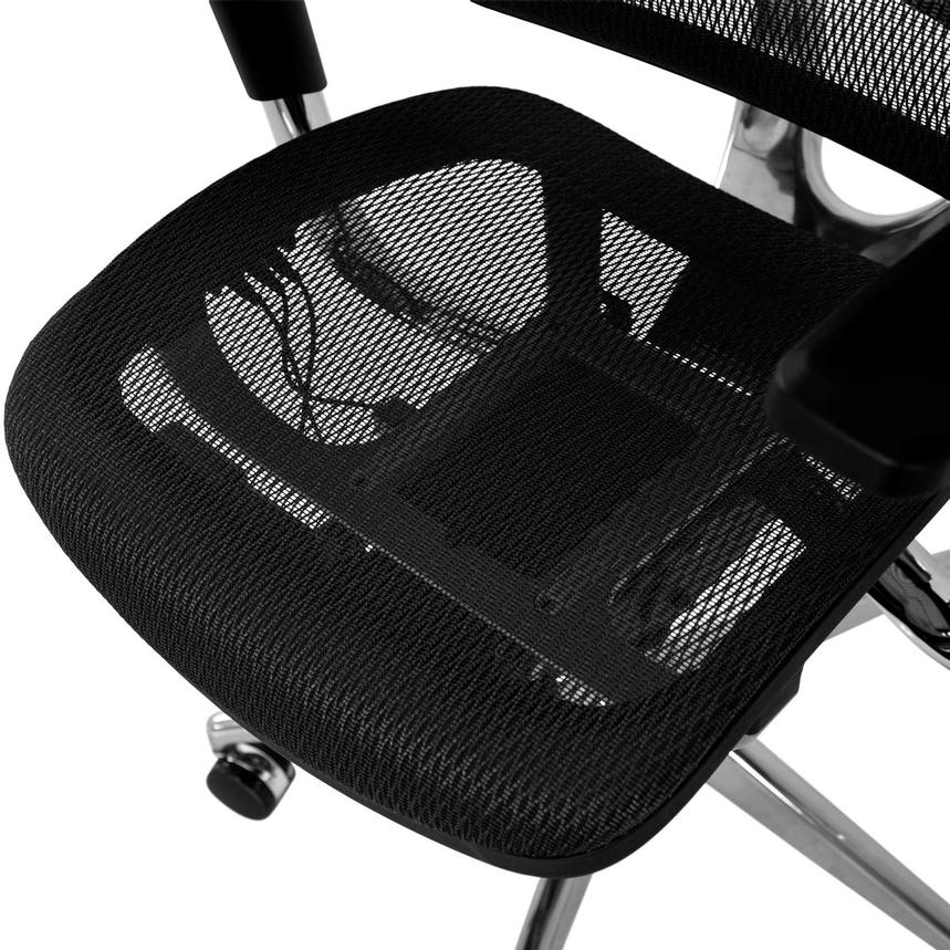 Arsenio Black High Back Desk Chair  alternate image, 9 of 13 images.