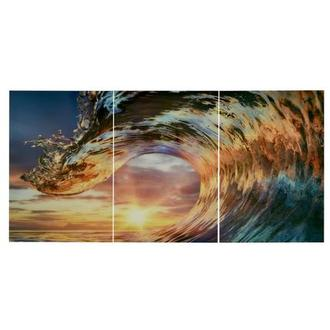 Onda III Set of 3 Acrylic Wall Art