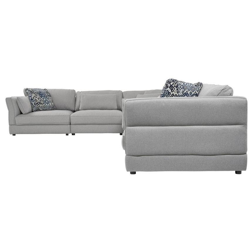 Skyward Sectional Sofa w/Ottoman  alternate image, 3 of 6 images.