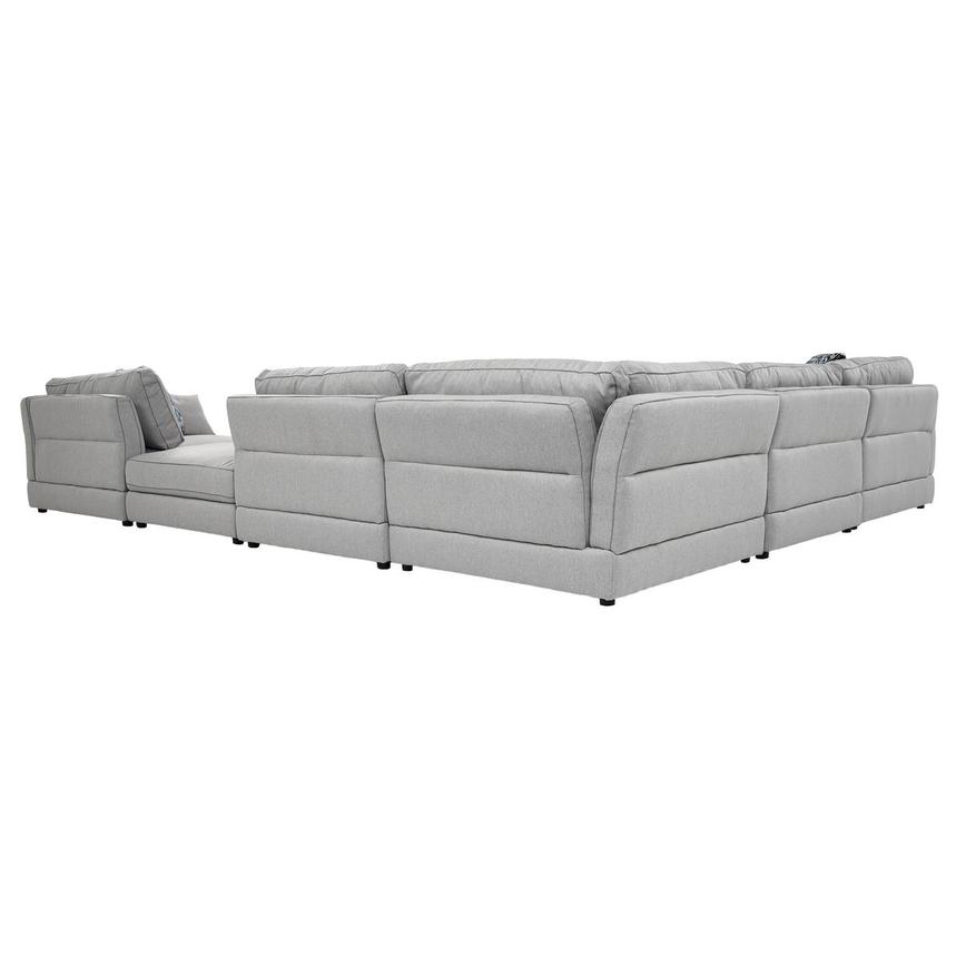 Skyward Sectional Sofa w/Ottoman  alternate image, 3 of 5 images.