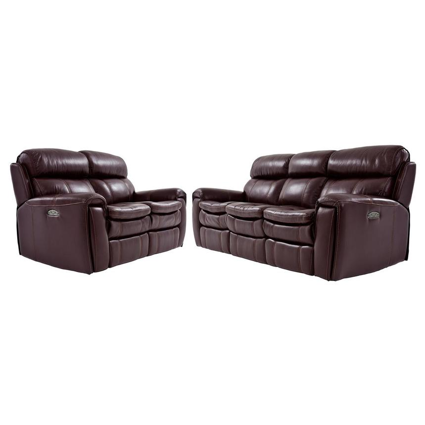 Napa Burgundy Living Room Set El Dorado Furniture