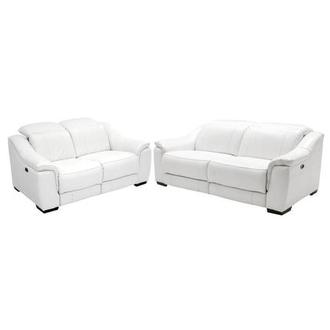 Davis White Living Room Set