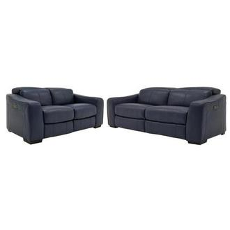 Jay Blue Living Room Set