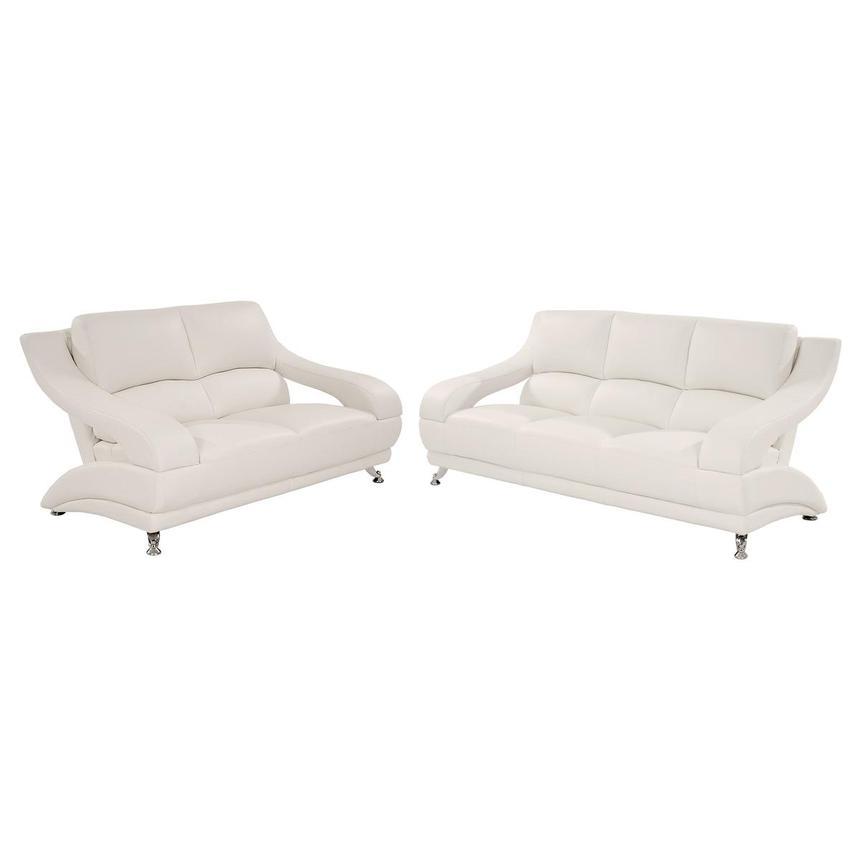Jedda White Living Room Set El Dorado, Dorado Furniture Miami