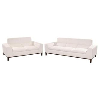 Milani White Living Room Set