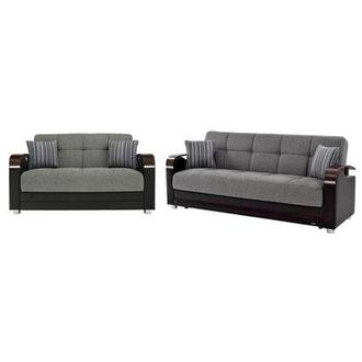 Peron Gray Living Room Set