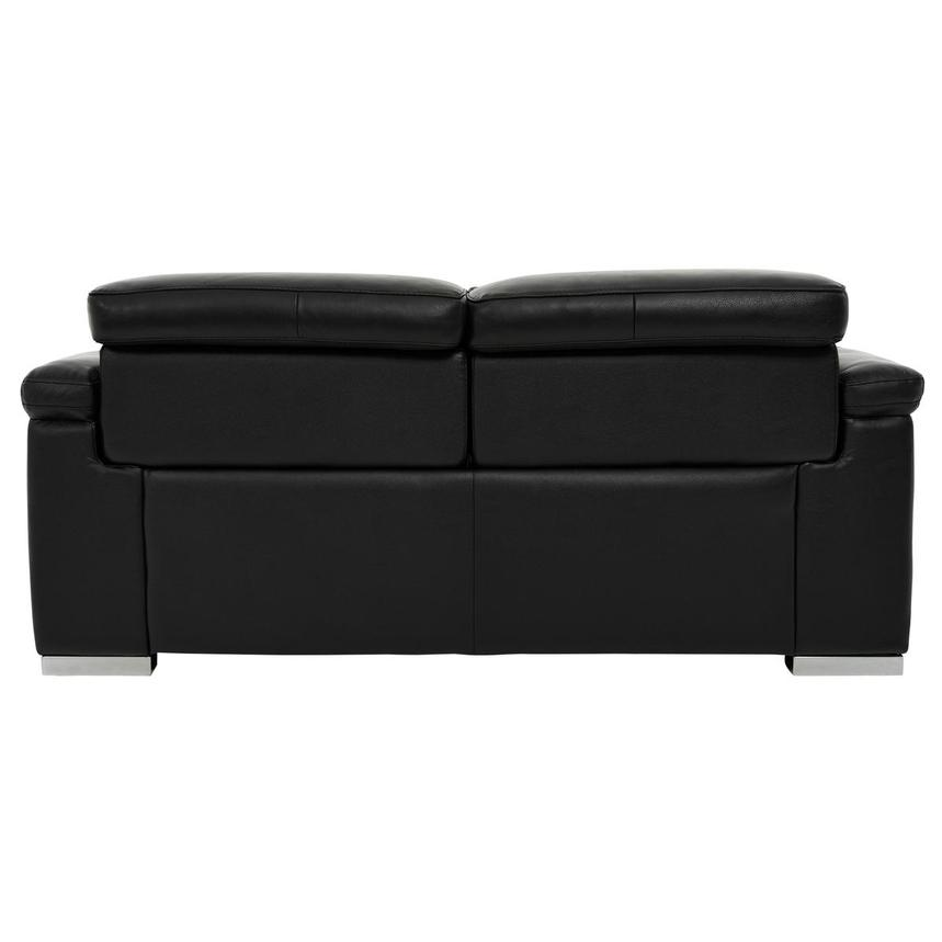Charlie Black Leather Power Reclining Loveseat  alternate image, 5 of 12 images.