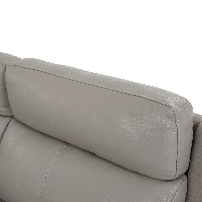 Barry Gray Leather Power Reclining Sectional  alternate image, 8 of 13 images.