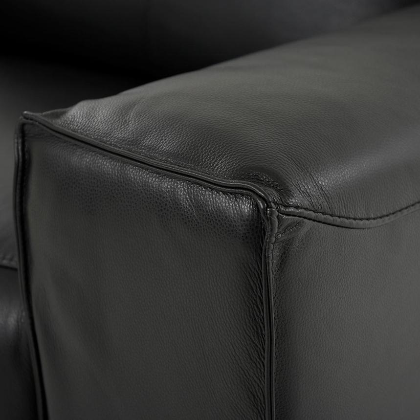 Jeremy Leather Power Reclining Sectional  alternate image, 8 of 12 images.