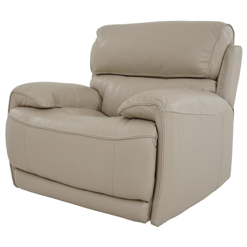 Cody Cream Leather Power Recliner  alternate image, 2 of 11 images.