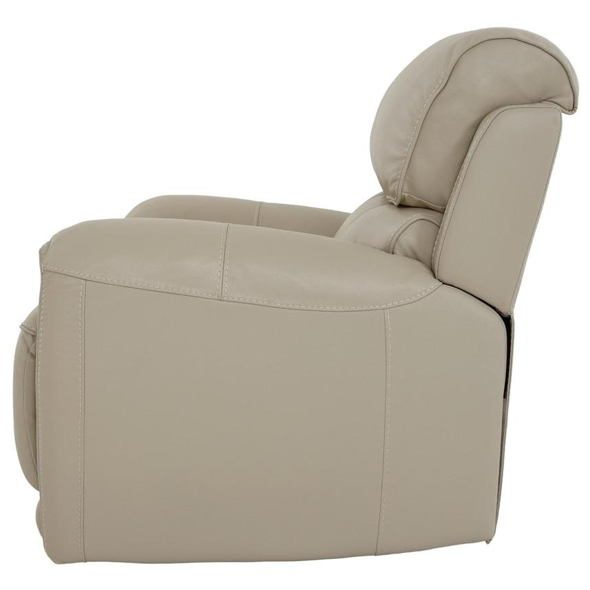 Cody Cream Leather Power Recliner  alternate image, 4 of 11 images.