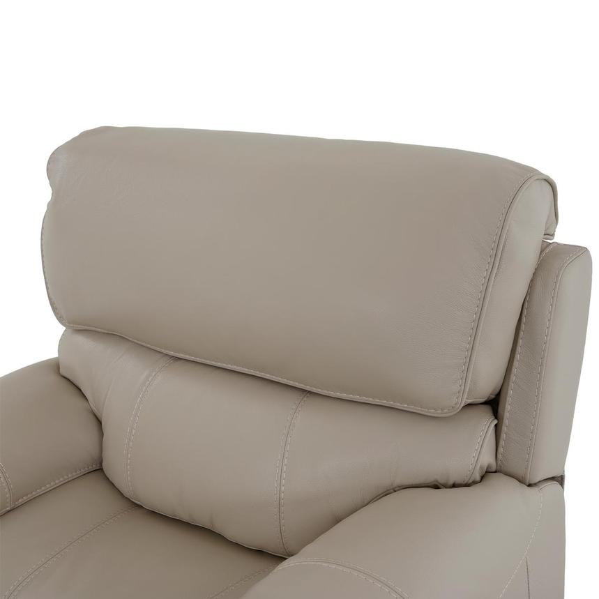 Cody Cream Leather Power Recliner  alternate image, 7 of 11 images.