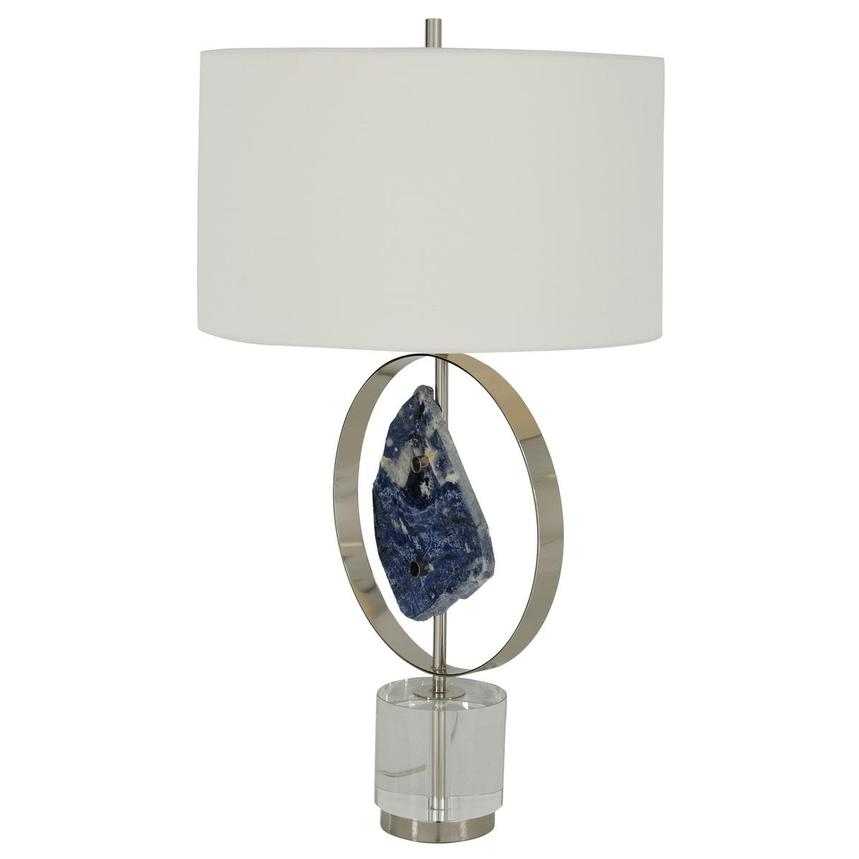 Blue Stone Table Lamp  alternate image, 3 of 7 images.