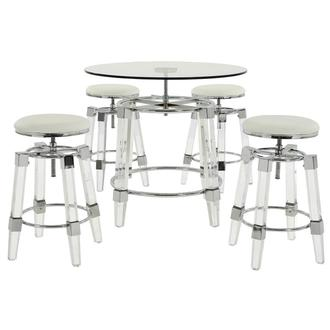 Julie White 5-Piece Casual Dining Set
