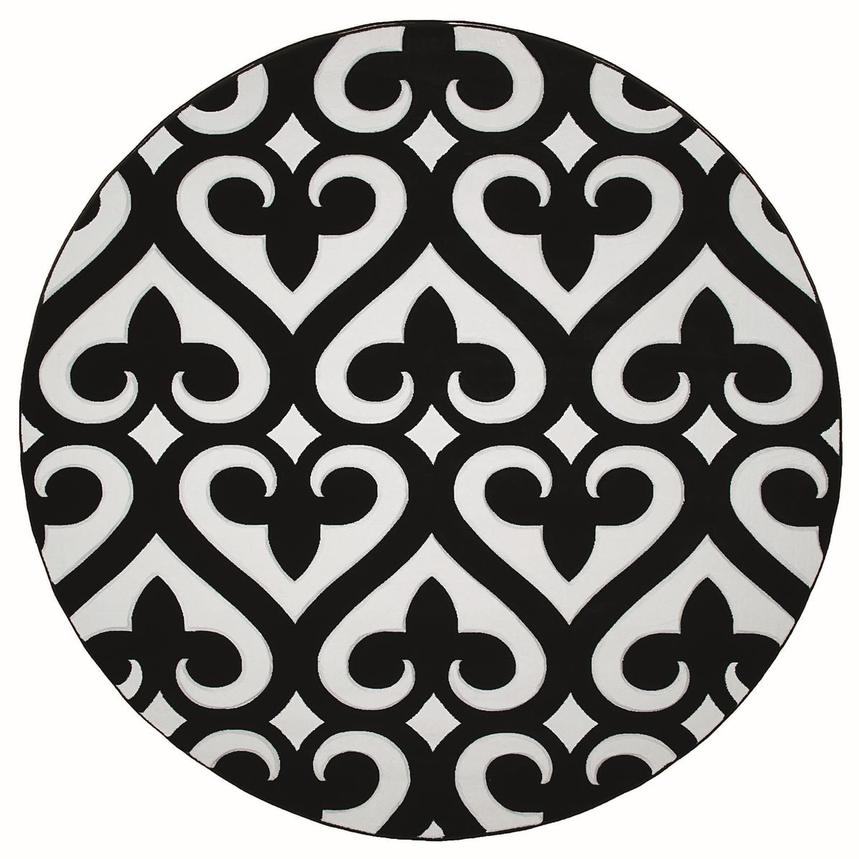 Ranya 8' Round Area Rug  main image, 1 of 2 images.