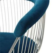 Aviary Blue Accent Chair  alternate image, 6 of 7 images.