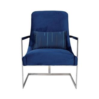 Dimitra Blue Accent Chair