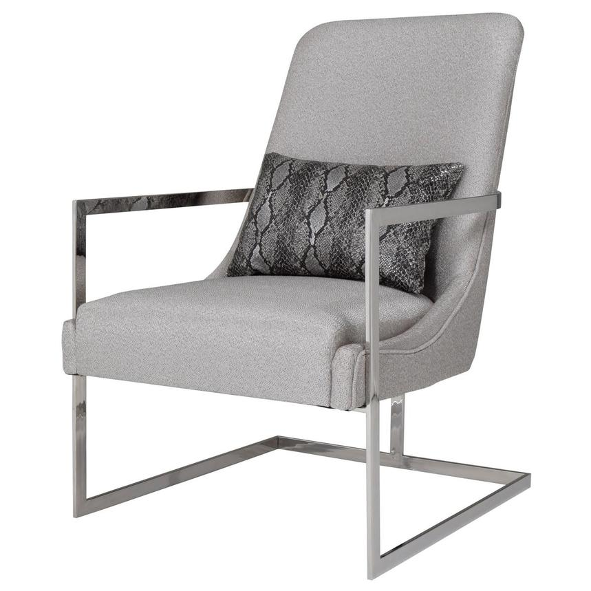 Dimitra Gray Accent Chair  alternate image, 3 of 8 images.