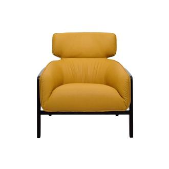 Irene I Yellow Accent Chair