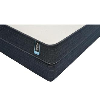 Coral King Mattress w/Low Foundation by Carlo Perazzi