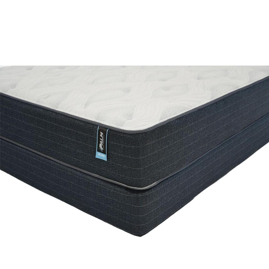 Pond King Mattress w/Low Foundation by Palm  main image, 1 of 5 images.
