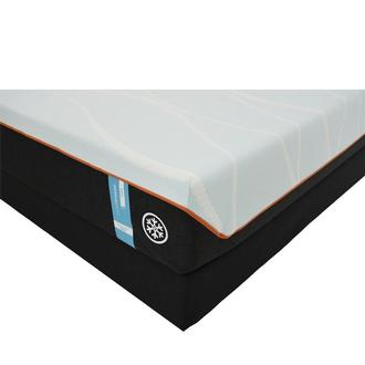 Luxe-Breeze Firm King Mattress w/Regular Foundation by Tempur-Pedic