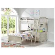 Regency Twin Over Full Bunk Bed w/Storage  alternate image, 2 of 2 images.