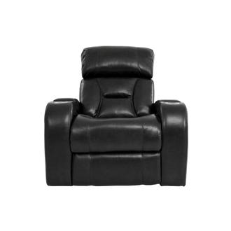 Gio Black Power Motion Leather Recliner