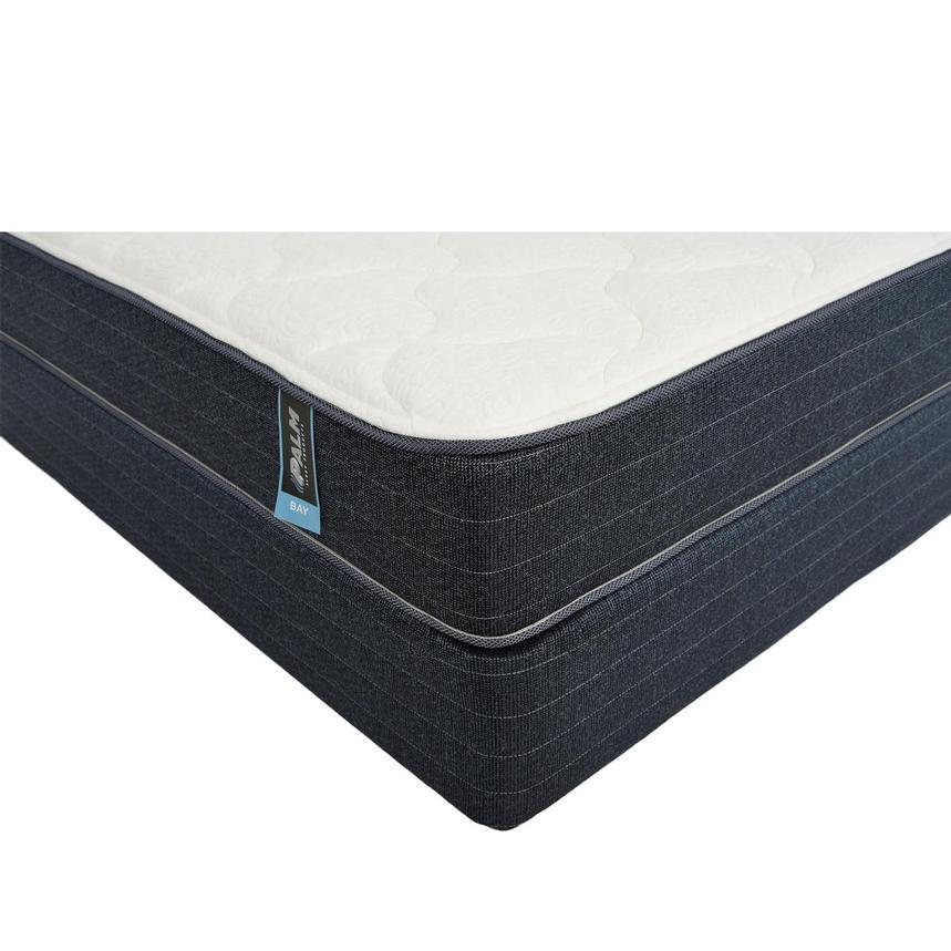 Bay Queen Mattress w/Low Foundation by Palm  main image, 1 of 5 images.