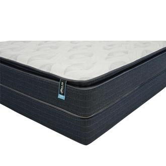 Reef Queen Mattress w/Low Foundation by Carlo Perazzi