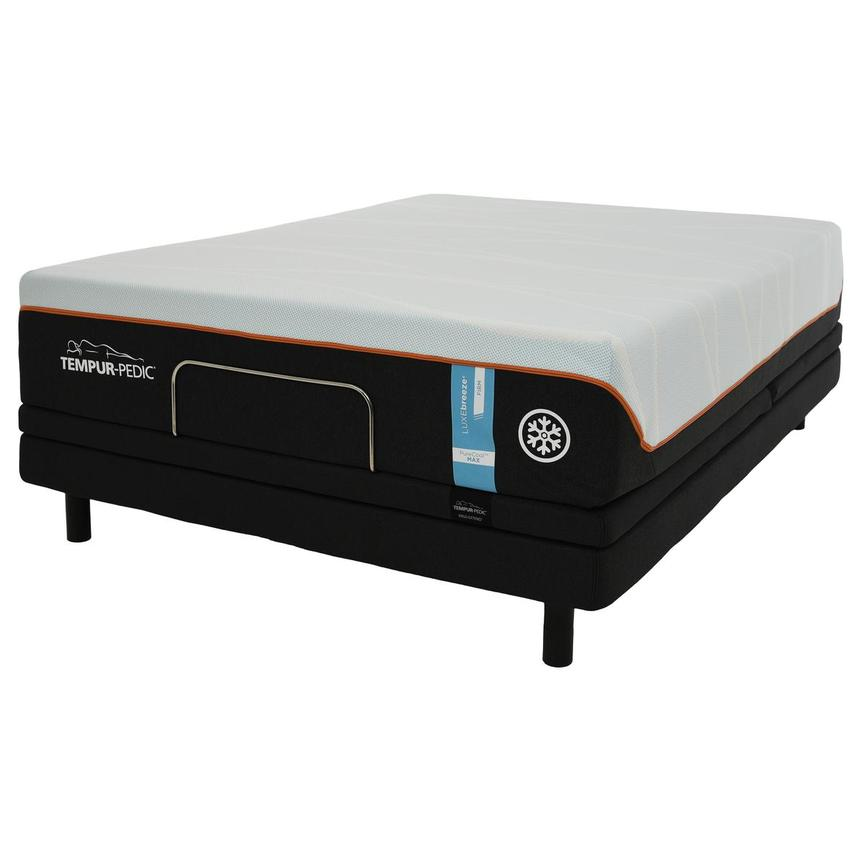Luxe-Breeze Firm Twin XL Mattress w/Ergo® Extend Powered Base by Tempur-Pedic  alternate image, 2 of 6 images.