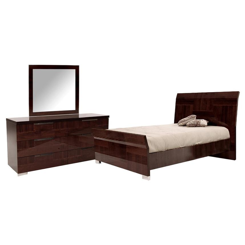 Pisa 3-Piece Queen Bedroom Set  main image, 1 of 4 images.