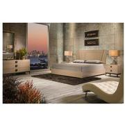 Mont Blanc Gray 4-Piece Queen Bedroom Set Made in Italy  alternate image, 2 of 6 images.