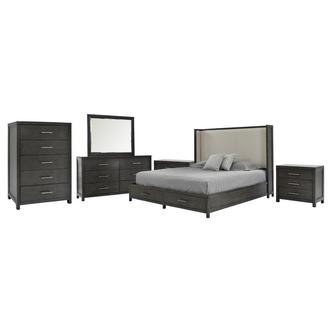 Edina 6-Piece King Bedroom Set