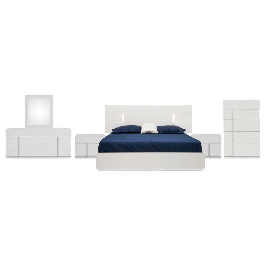 Ava 6-Piece Queen Bedroom Set Made in Italy