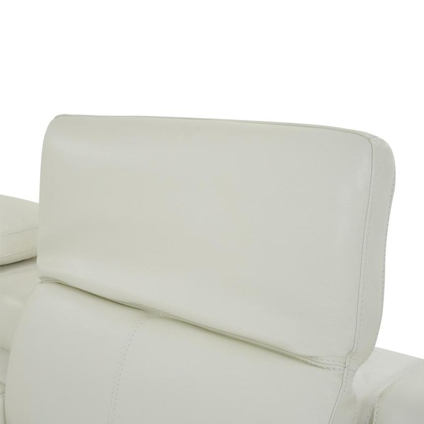 Davis 2.0 White Leather Power Reclining Sectional  alternate image, 5 of 11 images.