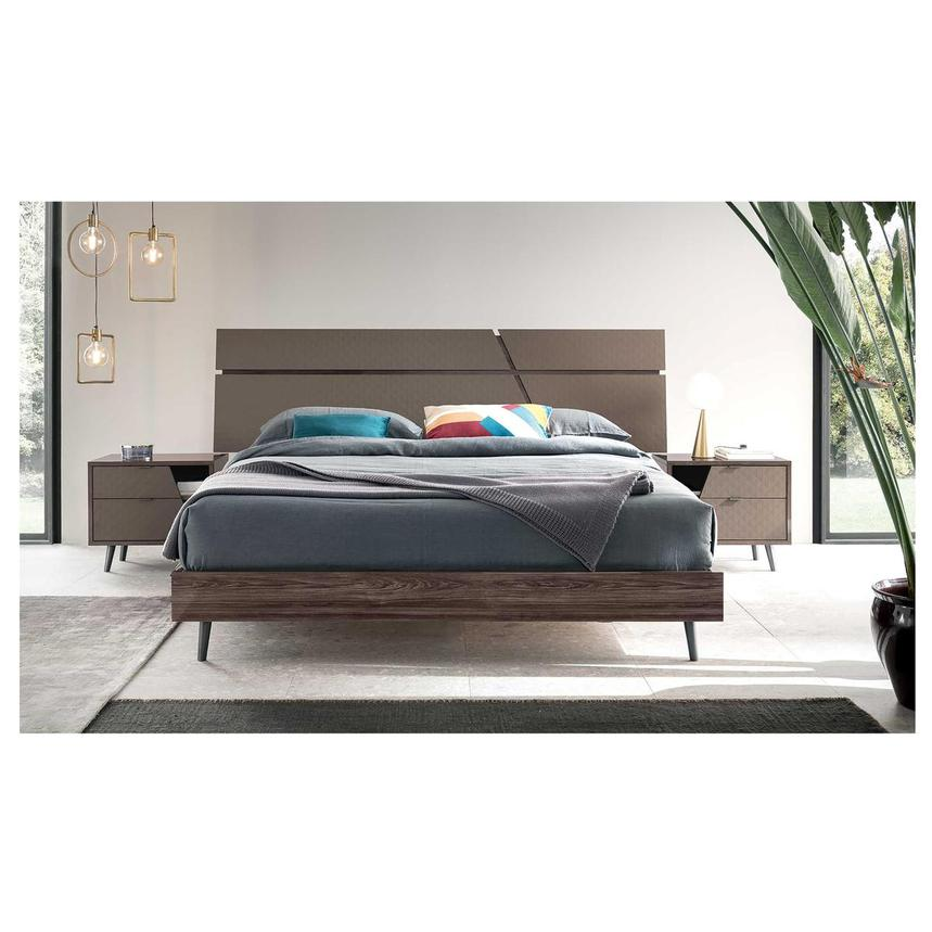 Frida King Platform Bed Made in Italy  alternate image, 3 of 3 images.