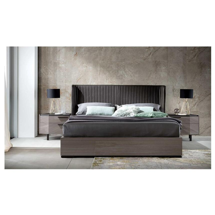 Olimpia Queen Platform Bed Made in Italy  alternate image, 3 of 3 images.
